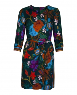 WINTER FLOWER DRESS